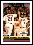 2006 Topps Update #184   -  Carlos Delgado Postseason Highlights Front Thumbnail