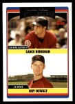 2006 Topps Update #298   -  Lance Berkman / Roy Oswalt Astros Leaders Front Thumbnail
