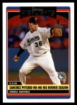 2006 Topps Update #174   -  Anibal Sanchez Season Highlights Front Thumbnail
