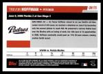 2006 Topps Update #175   -  Trevor Hoffman Season Highlights Back Thumbnail