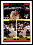 2006 Topps Update #203   -  Joe Mauer / Derek Jeter / Robinson Cano Leaders Front Thumbnail