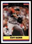 2006 Topps Update #245   -  Scott Kazmir All-Star Front Thumbnail