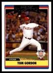 2006 Topps Update #266   -  Tom Gordon All-Star Front Thumbnail
