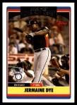 2006 Topps Update #287  Jermaine Dye  Front Thumbnail