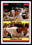 2006 Topps Update #293   -  Miguel Cabrera / Dontrelle Willis Marlins Team Leaders Front Thumbnail