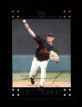 2007 Topps Update #24  Brad Hennessey  Front Thumbnail