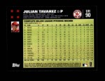 2007 Topps Update #90  Julian Tavarez  Back Thumbnail