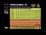 2007 Topps Update #63  Cesar Izturis  Back Thumbnail