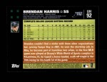 2007 Topps Update #92  Brendan Harris  Back Thumbnail