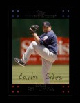 2007 Topps Update #29  Carlos Silva  Front Thumbnail