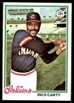 1978 Topps #305  Rico Carty  Front Thumbnail
