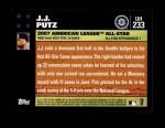 2007 Topps Update #233  J.J. Putz  Back Thumbnail