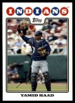 2008 Topps Update #6  Yamid Haad  Front Thumbnail
