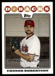 2008 Topps Update #37  Connor Robertson  Front Thumbnail
