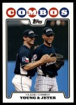 2008 Topps Updates #127  Michael Young  Front Thumbnail