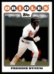2008 Topps Updates #3  Freddie Bynum  Front Thumbnail