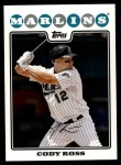 2008 Topps Updates #32  Cody Ross  Front Thumbnail