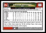 2008 Topps Updates #55  Cesar Izturis  Back Thumbnail