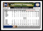 2008 Topps Update #218  Salomon Torres  Back Thumbnail