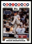2008 Topps Updates #292   -  Ryan Dempster All-Star Front Thumbnail
