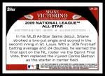 2009 Topps Update #129  Shane Victorino  Back Thumbnail