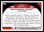 2009 Topps Update #136  Raul Ibanez  Back Thumbnail