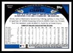 2009 Topps Update #306  Endy Chavez  Back Thumbnail