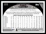 2009 Topps Update #319  Ramon Castro  Back Thumbnail