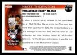 2010 Topps Update #156  Matt Thornton  Back Thumbnail