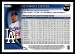2010 Topps Update #159  Octavio Dotel  Back Thumbnail