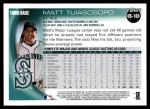 2010 Topps Update #103  Matt Tuiasosopo  Back Thumbnail
