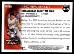 2010 Topps Update #25  Andrew Bailey  Back Thumbnail