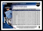 2010 Topps Update #313  Mitch Maier  Back Thumbnail