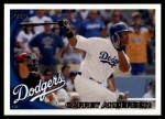 2010 Topps Update #206  Garret Anderson  Front Thumbnail