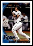 2010 Topps Update #292  Kelly Shoppach  Front Thumbnail