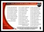 2010 Topps Update #215  Albert Pujols  Back Thumbnail