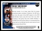 2010 Topps Update #279  Hanley Ramirez  Back Thumbnail