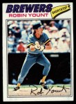 1977 Topps #635  Robin Yount  Front Thumbnail