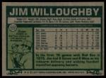 1977 Topps #532  Jim Willoughby  Back Thumbnail