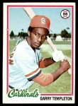 1978 Topps #32  Garry Templeton  Front Thumbnail