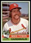 1976 Topps #86  Mike Tyson  Front Thumbnail