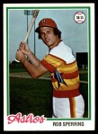 1978 Topps #514  Rob Sperring  Front Thumbnail