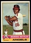 1976 Topps #434  Morris Nettles  Front Thumbnail