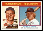 1976 Topps #66   -  Gus Bell / Buddy Bell  Father & Son Front Thumbnail