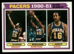 1981 Topps #53   Pacers Leaders Front Thumbnail