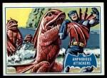 1966 Topps Batman Blue Bat Puzzle Back #10   Amphibious Attackers Front Thumbnail