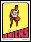 1972 Topps #52  Dick Barnett   Front Thumbnail
