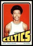 1972 Topps #19  Art Williams   Front Thumbnail