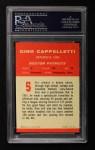 1963 Fleer #5  Gino Cappelletti  Back Thumbnail