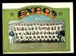 1972 Topps #582   Expos Team Front Thumbnail